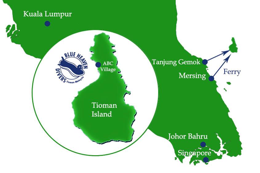 Transport to Tioman