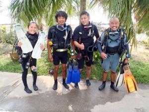 Scubadiving courses
