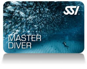 The much sought-after SSI Master Diver is the final step in your recreational diving career.